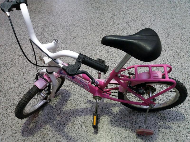 Bicicleta para Niña.