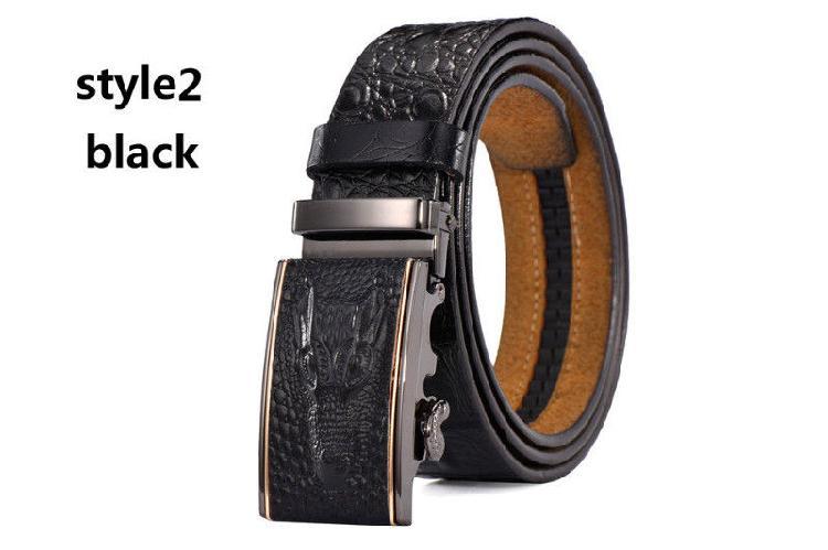 Cinturon De Cuero Autentico Destiny Para Hombre Marron/Negro