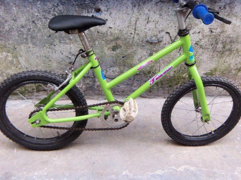 bicicleta rodado 14 para niña usada en muy buen estado