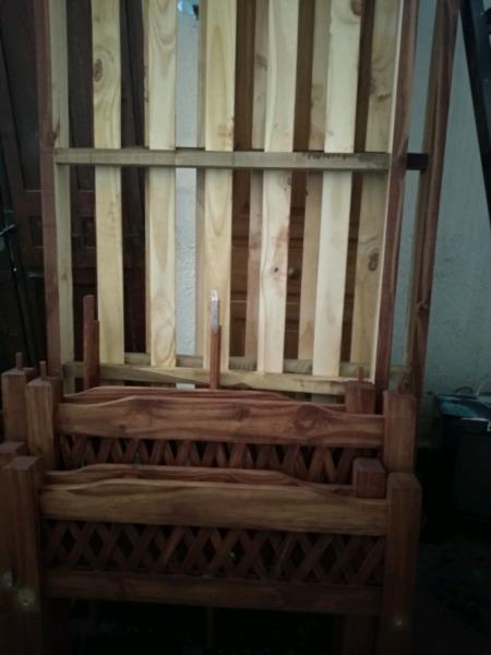 Cucheta nueva de pino