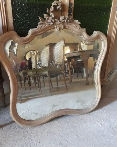 Espejo antiguo estilo luis xv