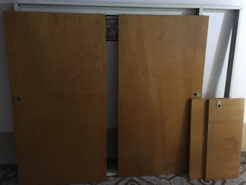 Frente De Placard C/marco Y Puertas(y Baulera) 2 X 2,4 Mts
