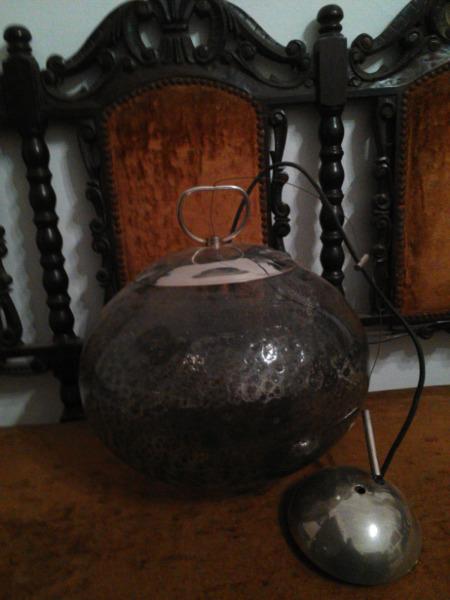 Globo colgante p/iluminación de Cristal de Murano, con sus