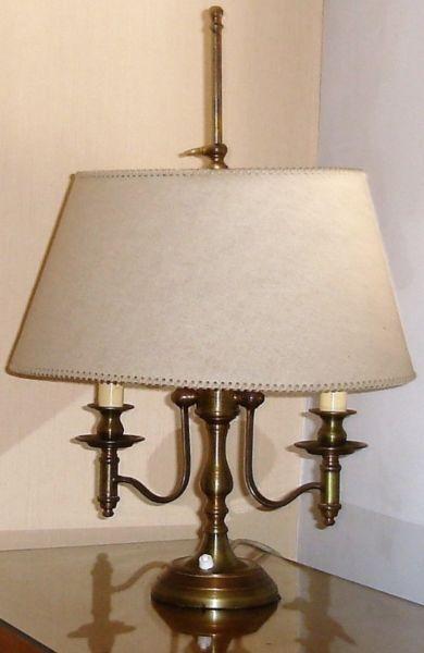 Lámpara de Escritorio Estilo Inglés Antiguo