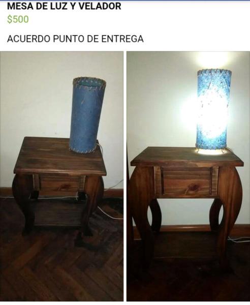 Muebles mesa capital federal villa luro posot class for Muebles baratos en capital federal