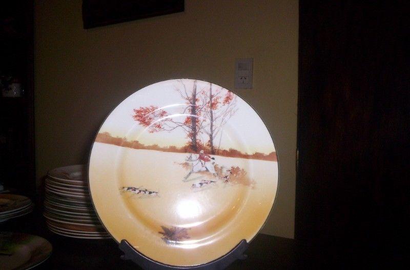 Muyantiguo Plato De Mesa 2 (26 Cm) Royal Doulton Serie Peel