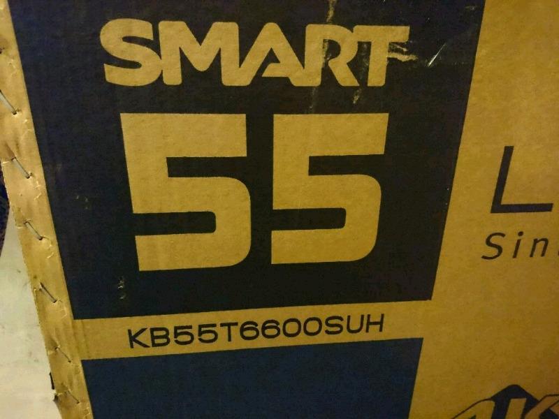 Smart tv Ken Brown 55 pulgadas, 4k. Nuevo en caja