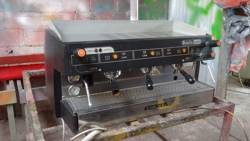 Cafetera Criollo tres bocas