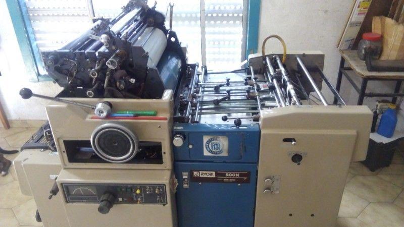 VENDO Impresora Offset Ryobi 500n ¡excelente precio!