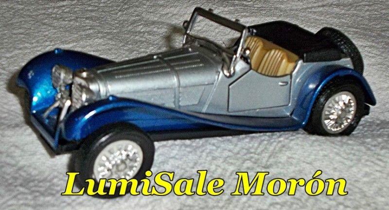 Auto a escala 1/32 Auto antiguo, modelo de vitrina