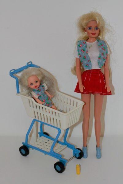 Barbie Y Kelly En El Supermercado +accesorios