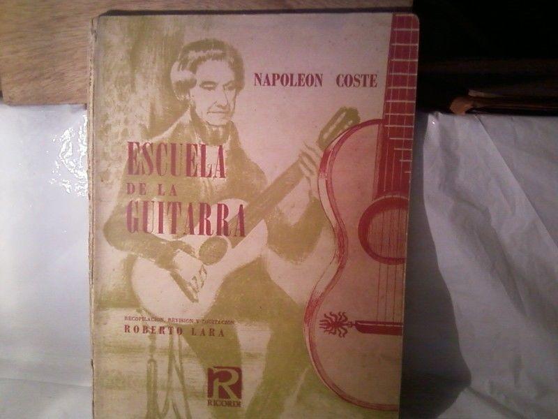 LA ESCUELA DE LA GUITARRA, NAPOLEON COSTE