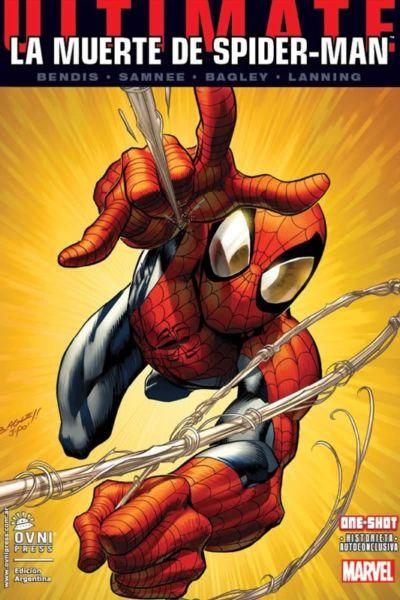 La muerte de Spiderman, Editorial Ovni Press. Papel!