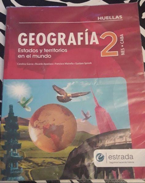 Libro Geografía 2. Estados y Territorios en el Mundo.