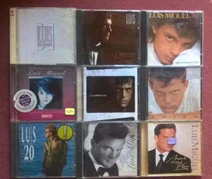 Lote Luis Miguel 9 Cds Originales - La Plata o Almagro