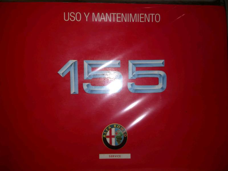 Manual de Alfa Romeo 155 - de usuario en formato digital