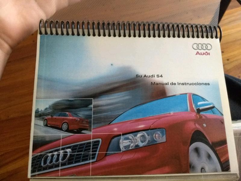 Manual de Audi S4 - año  - de usuario en español