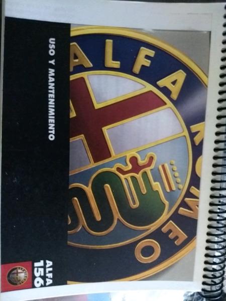 Manual de usuario de Alfa Romeo 156