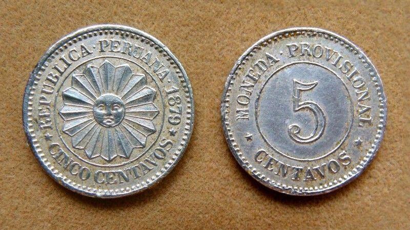 Moneda de 5 centavos Perú