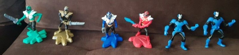 Muñecos Plastico Moviles o Musicales Power Rangers Mc
