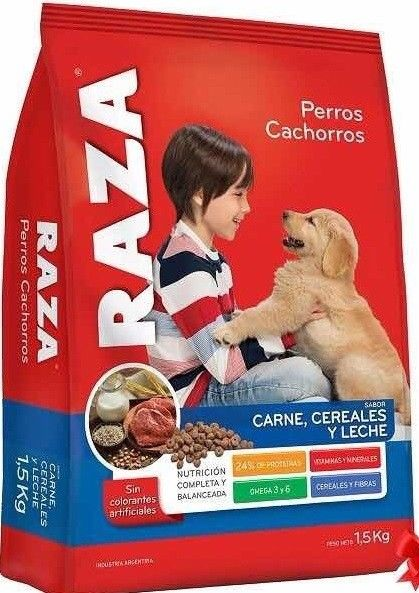 Alimento Perro Cachorro RAZA – x 15 kg