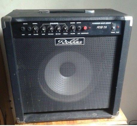 Amplificador De Bajo Roller. 70 Watts