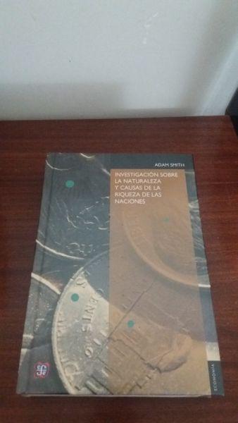 INVESTIGACIÓN SOBRE LA NATURALEZA Y CAUSAS DE LA RIQUEZA DE