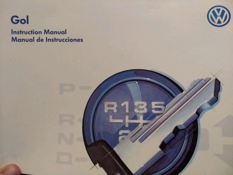 Manual de usuario Volkswagen gol GTI