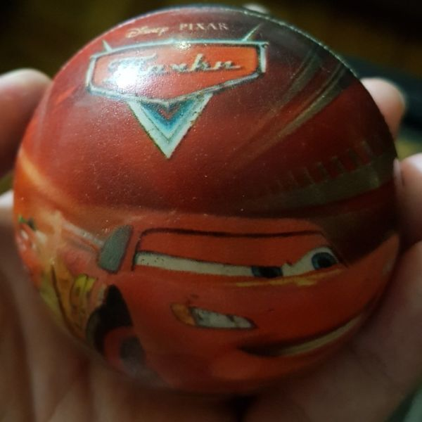 NUEVA Pelota Rebota Soft Cars Rayo Mc Queen Disney Pixar