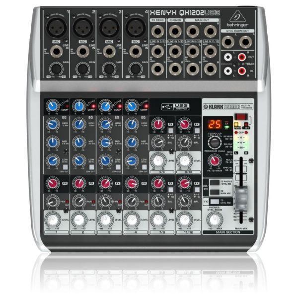 behringer xenyx qxusb mixer
