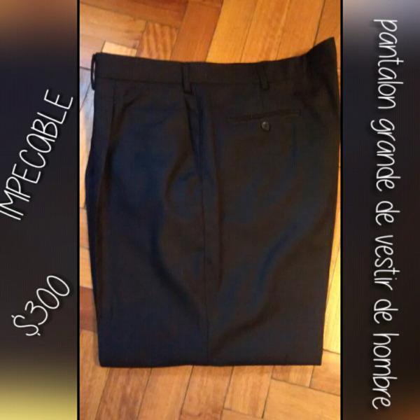 Pantalon de vestir de hombre impecable