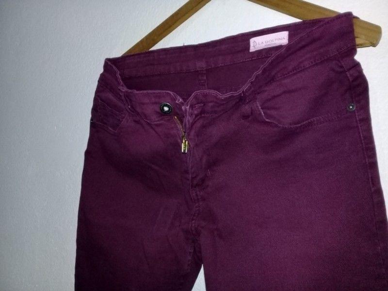Pantalon hombre talle 42 elastizado LA DOLFINA chupin