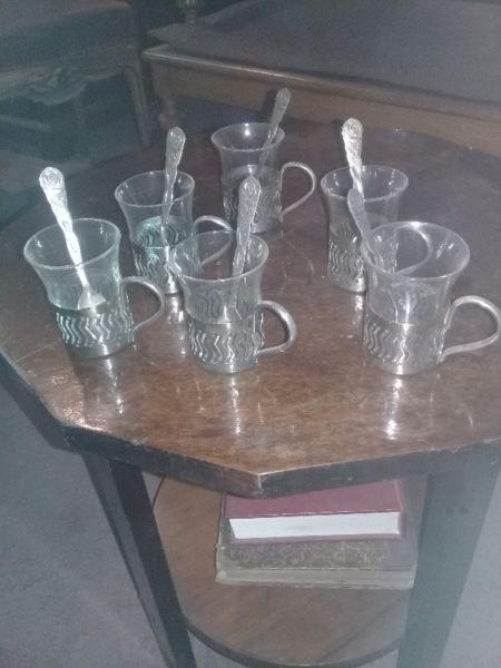 Tazas cristal de murano