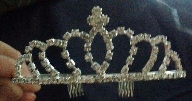 Tiara, corona strass, eventos, cumpleaños de 15, novias