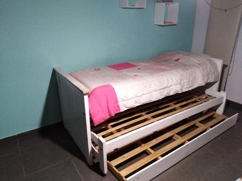 Vendo cama nido. 3 camas