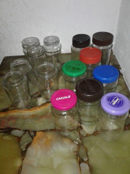 Ventas de frascos vacios de mermelada y cafe