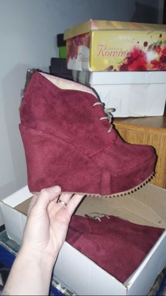 Zapatos de gamuza 35