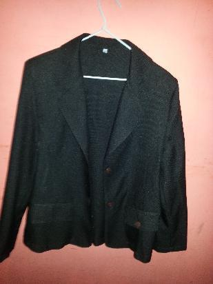 blazers mujer color negro talle 3