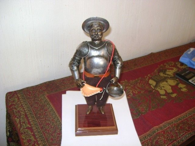 Antigua Figura De Sancho Panza Comprado En Sevilla