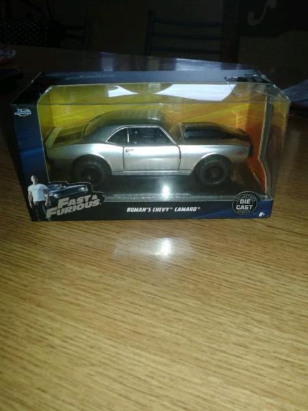 Buen dia vendo autos rápido y furioso de colección nuevos