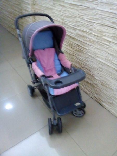 Coche Cuna paseo Priori manija Rebatible cochecito bebe
