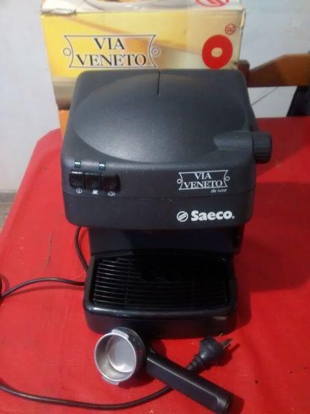 VENDO Cafetera Saeco Via Veneto The Luxe Saeco