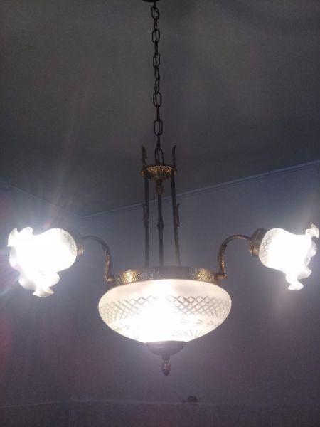 Vendo lámpara y plafones