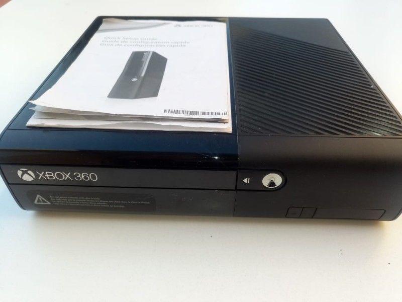Xbox 360 Usada +kinect+ Control+ Juegos + Adaptador Pc
