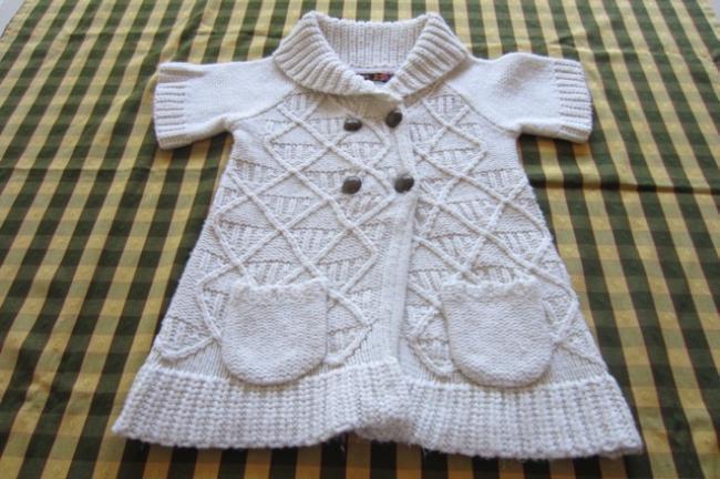 saco de lana tipo tapadito para nena, marca europea!!!