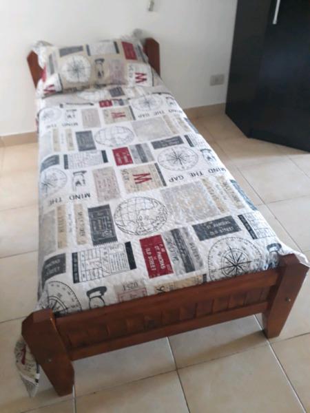 LIQUIDO YA! cama 1 plaza + colchon