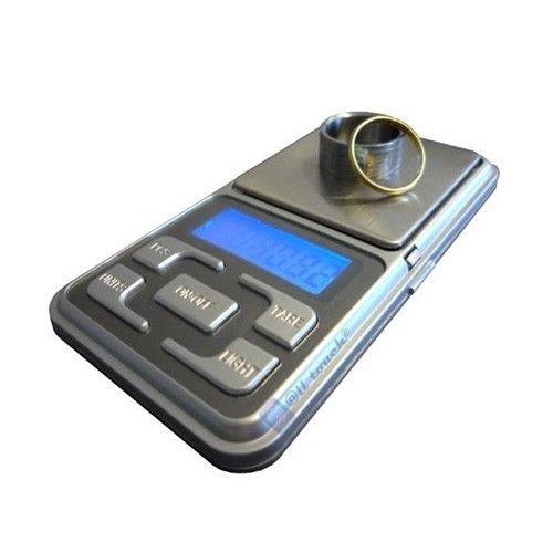 Mini balanza digital de precisión 0.1gr hasta 500gr