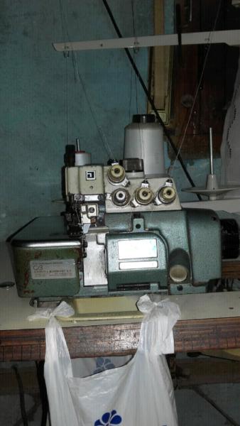 Máquina overlok industrial