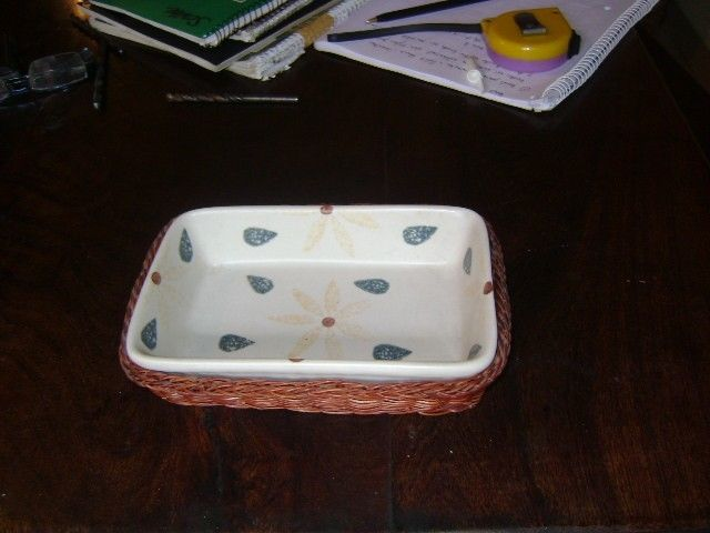 Antiguo Bowl Para Masitas O Petit Fours En Loza