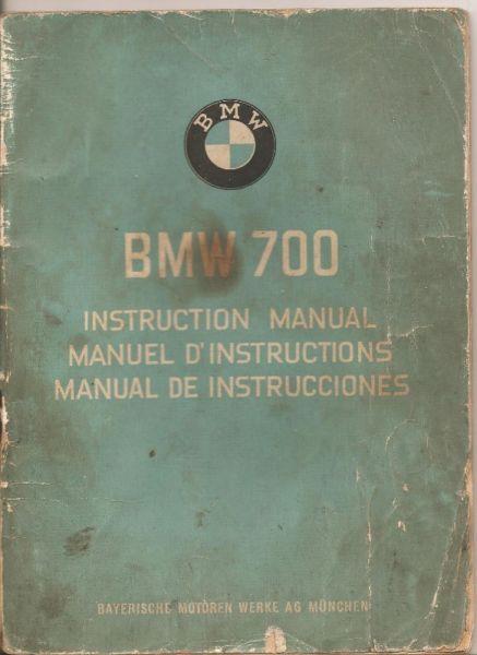 Manual BMW 700 - de usuario en form.digital